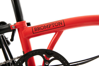Brompton Black Edition Rocket Red for sale