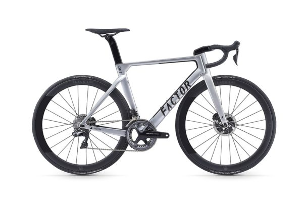 Factor ONE_Disc_Silver_bike for sale