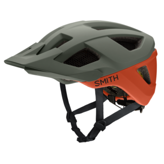 Smith MIPS Session Helmet-Matte-Sage-Red-ROck