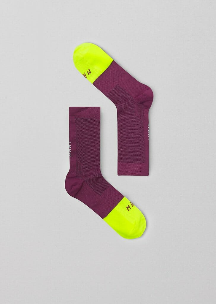 Accessories-Sock-Division-Grape_maap-cycling-apparel_1-Eat Sleep Cycle