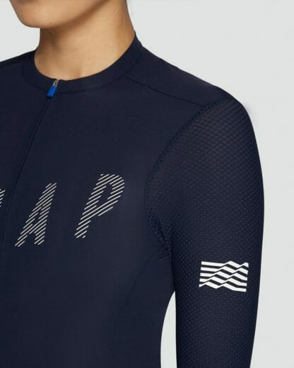 Female-Jersey-Echo-Pro-Base-LS-Navy_maap-cycling-apparel_2-Eat-Sleep-Cycle