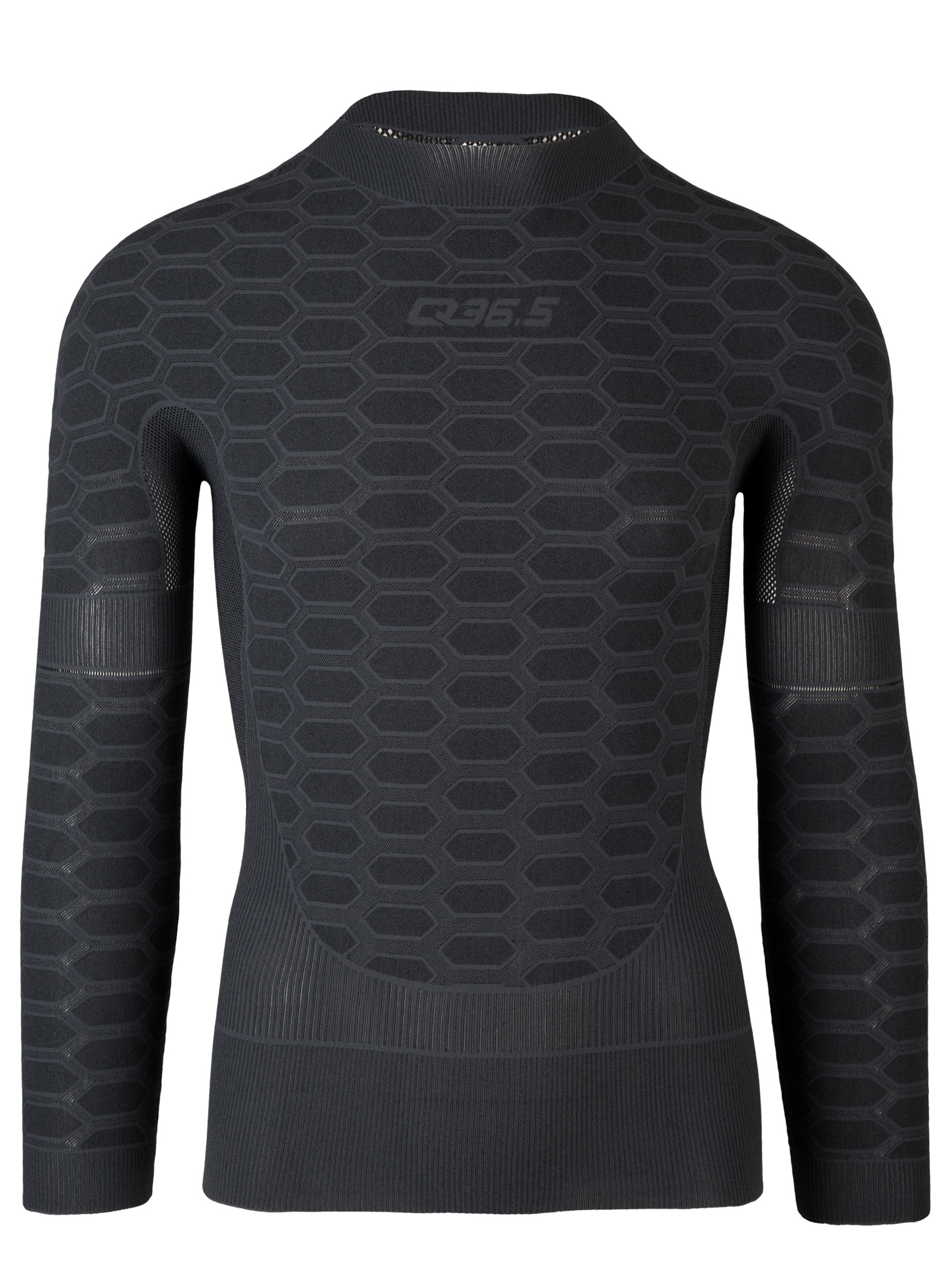 Q36.5 Antracite Long Sleeve Baselayer Front